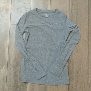 Gray Long sleeved